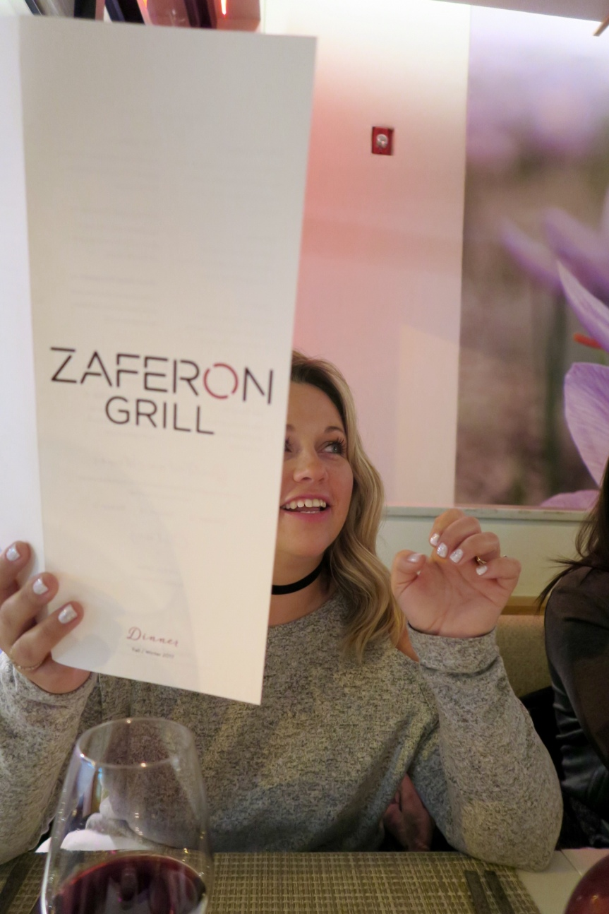 Holiday Feasting – Zaferon Grill Restaurant Review