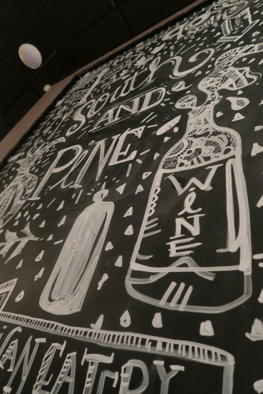 Eat This: Dinner at South and Pine With A Little Pinot Noir