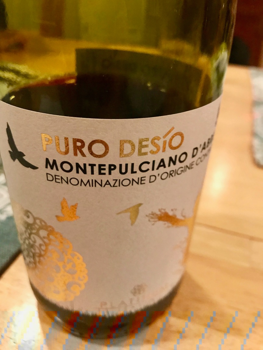 Deep Reflections and Crappy Montepulciano