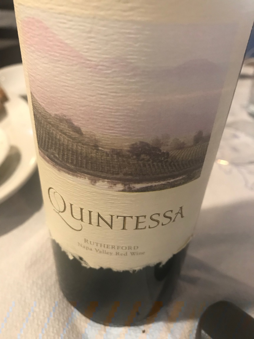 Not Being Normal Is The New Normal; Drinking Quintessa